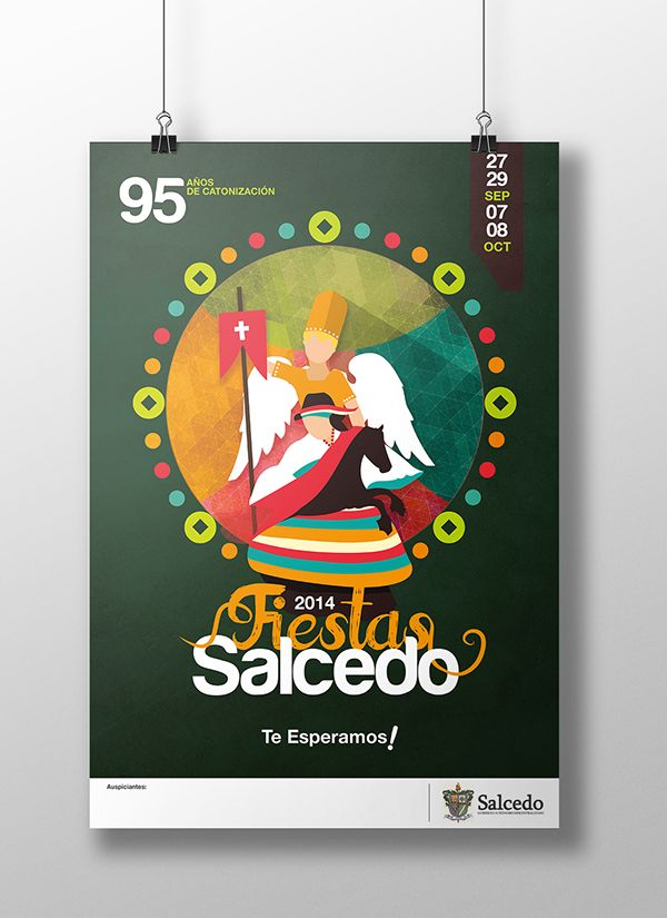 Fiestas de Salcedo on Behance