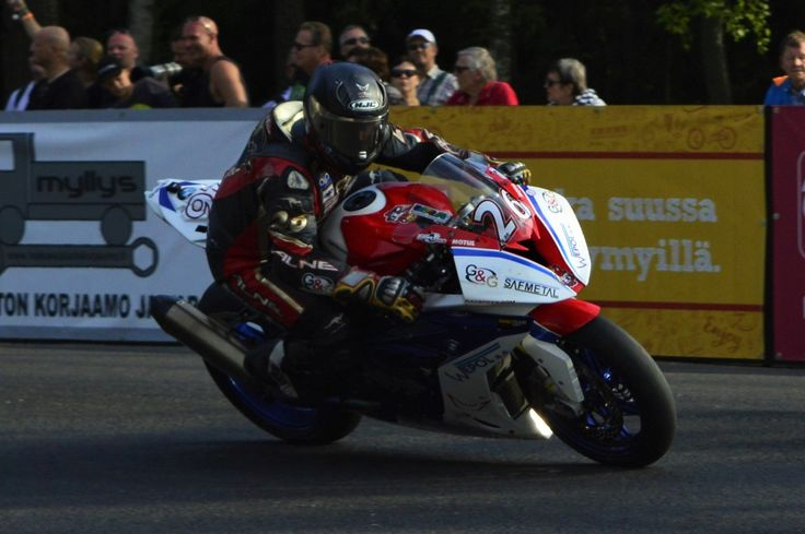 IRRC Imatra. No. 26 NAME: Didier Grams NAT: GER CLUB/TEAM: G&G Motorsport BIKE: BMW  RACE 1: Place: 3. Laps: 10 Total time: 00:19:25.648 Difference: 23.049 Best lap time: 00:01:54.914 Best lap: 4 Speed: 152,876 Points: 16  RACE 2: Place: 5. Laps: 10 Total time: 00:19:07.761 Difference: 18.761 Best lap time: 00:01:53.445 Best lap: 5 Speed: 155,259 Points: 11  IRRC SBK Imatra 2016 total points: 27 pts (4.)  #IRRC #Imatra #RoadRacing #Imatranajo #Superbike