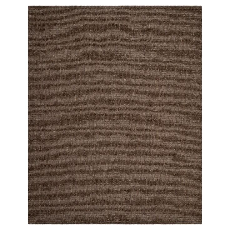 Serena Natural Fiber Area Rug - Brown (9' X 12') - Safavieh