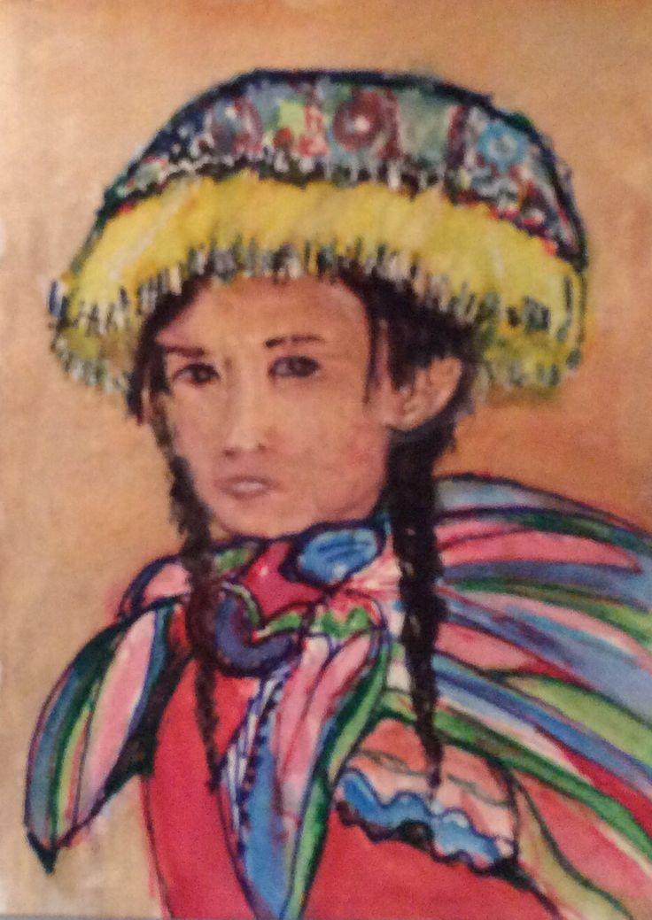 Peru 3 watercolor