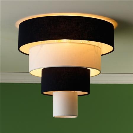New look in ceiling lights. Comes in Navy, Black or Khaki and white!