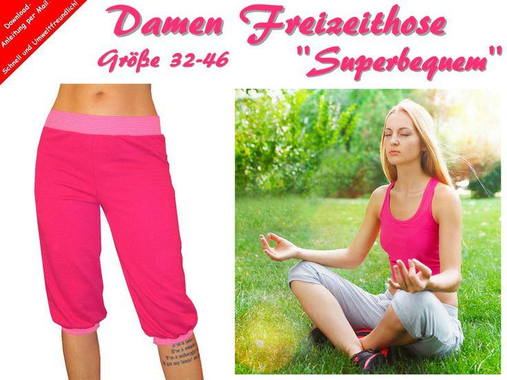 Damen+Freizeithose+''Superbequem''+selber+Nähen+von+Trash-Monstarz®+Nähshop+auf+DaWanda.com