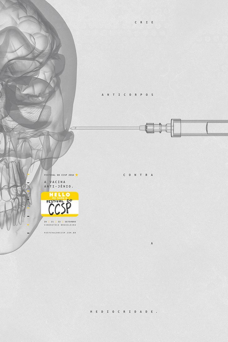 CCSP / Vacina Anti-Jênio - Pedro Reis › Art Director