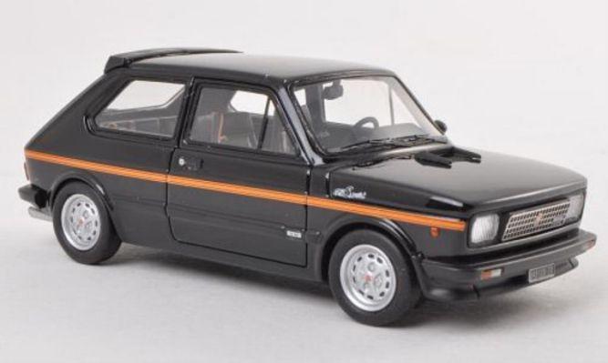 Fiat 127 Sport Black Orange 1979 With Images Fiat Suv Suv Car