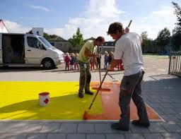 schoolplein schilderen - Google zoeken