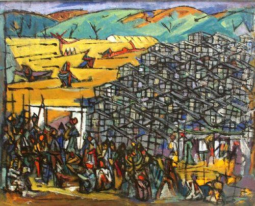 Tarbut.ru :: Art :: Exhibition :: Culture :: Israel Ein Hod - the final chord of Dada, Marcel Yanko