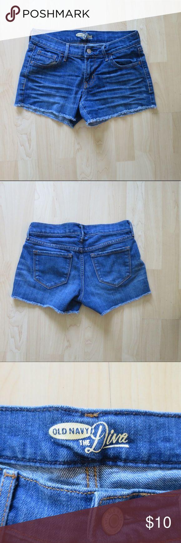 Old navy jean shorts Old navy jean shorts. In good condition. Old Navy Shorts Jean Shorts