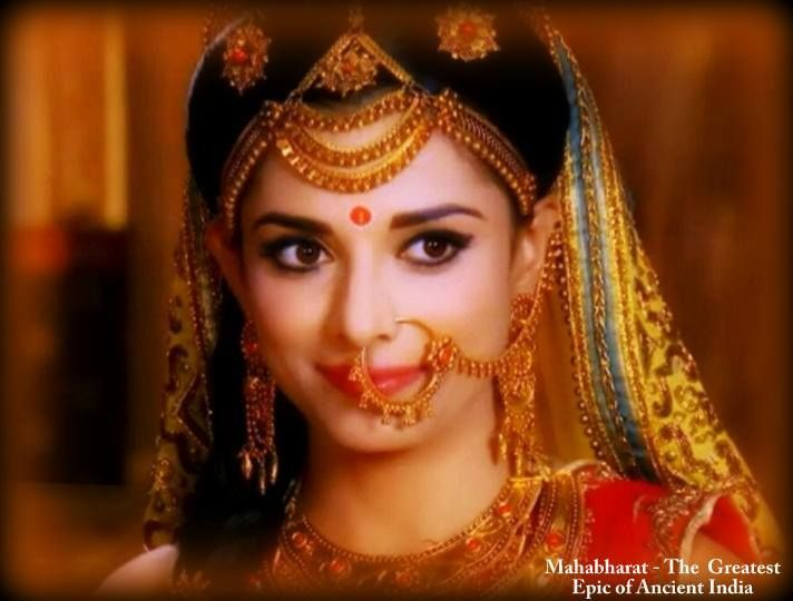 pooja sharma draupadi in mahabharat star plus