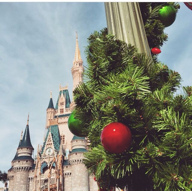 #ornaments #holly #princess #dreamjob #wdw #mickeysonceuponachristmastime #float #parade #disney #costumes #lights #xmas #christmas #disneyworld #magickingdom  Pc: Instagram @gianabeverly