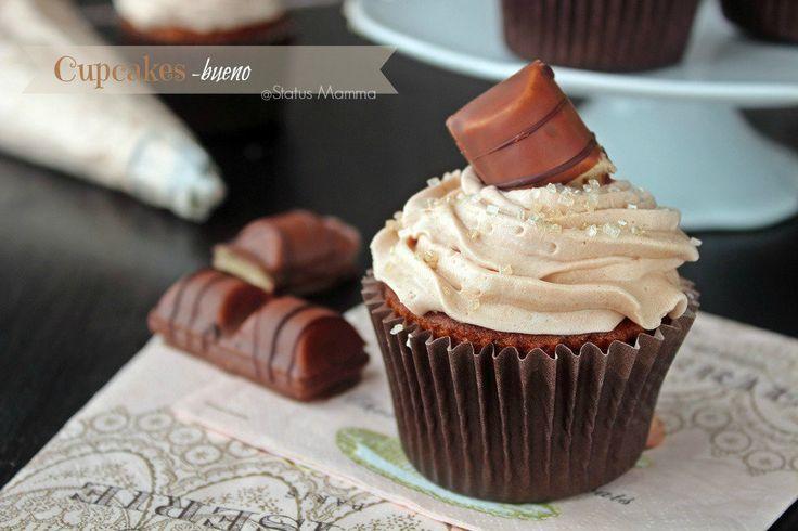 Deliziosi tortini cupcakes alla Nutella con crema Kinder Bueno ricetta dolce semplice colazione merenda bambini facile economico homemade nutella Statusmamma blogGz Giallozafferano goloso