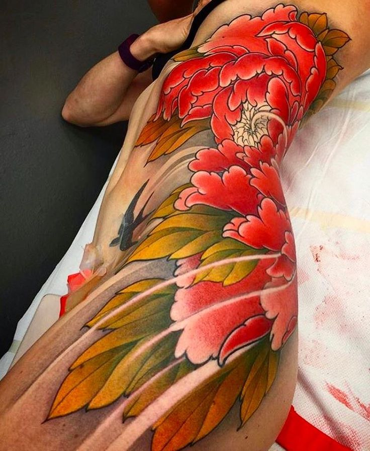 best 25 japanese flower tattoo ideas on pinterest. Black Bedroom Furniture Sets. Home Design Ideas