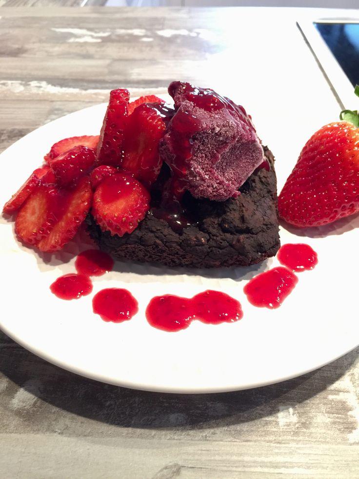 Brownie aus Kidneybohnen ❤️