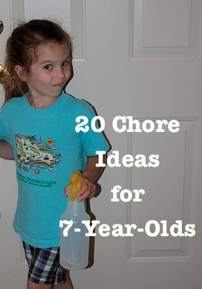 Chores are an important part of building responsibility and independence. You may not choose each of these as part of your child's list of twenty chores, but they are a good place to start...