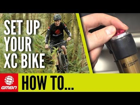 YouTube How to set up your cross country Bike Mountain Bike Maintenance💪