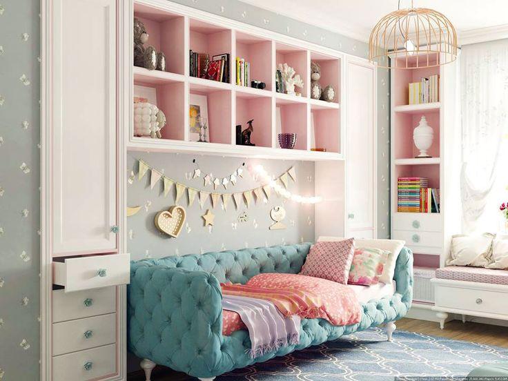 Интерьер детской комнаты с эксклюзивной мебелью от RONDINI HOME фото 01