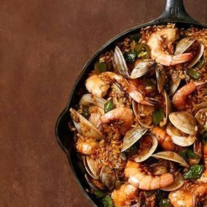 Seafood paella had this made fresh on the beach in Cuba recently and ohhh my it was truly the beat thing I have tasted