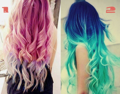 Neon Hair Colors | Im going to the salon next Monday so hurry and drop a comment!