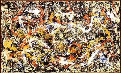 convergence 1952 by jackson pollock