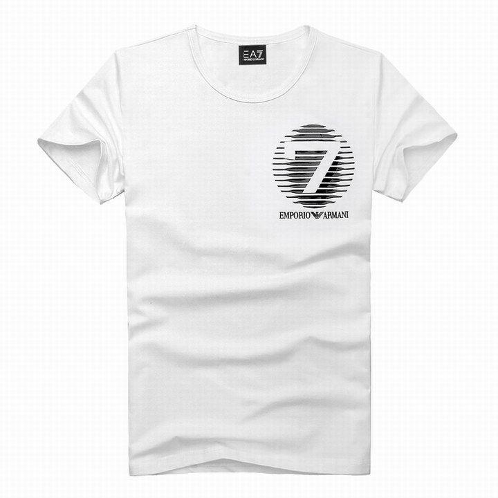cheap ralph lauren outlet EA7 Emporio Armani Stripe 7 Logo Crew Neck Short Sleeve T-Shirt White http://www.poloshirtoutlet.us/