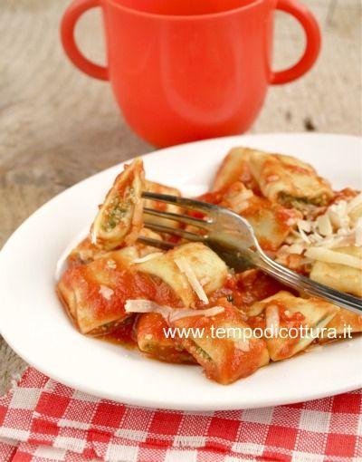 Pasta ripiena con spinaci e ricotta by tempo di cottura for Tempo cottura pizza forno ventilato