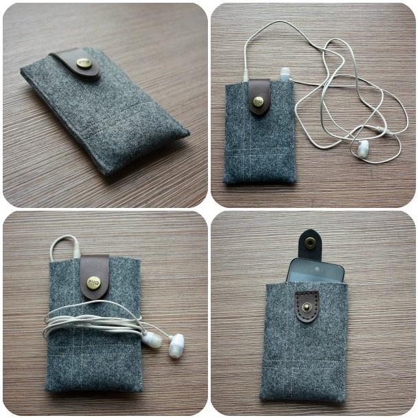 DIY: ipod holder