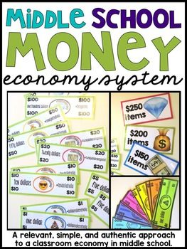 {Economy Classroom Economy Middle School Classroom Economy Middle School Economy Middle School Money Hashtag Economy} This is a simple resource for using a classroom economy system in your upper elementary {4th or 5th} and middle school classroom. I created this economy to be simple.