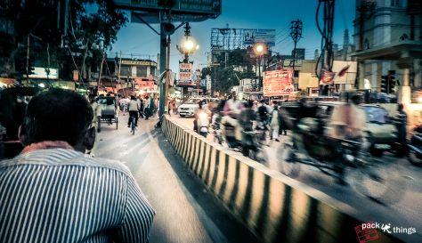 Varanasi Road-night - more on travel photography - packurthings.wordpress.com
