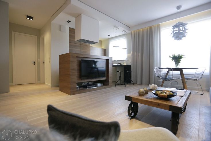 modern industrial apartment 4 Post Industrial Apartment in Warsaw Exhibiting a Clean and Elegant Design [Video]