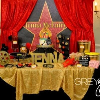 Red Carpet Hollywood Party Teen Party Themes Party