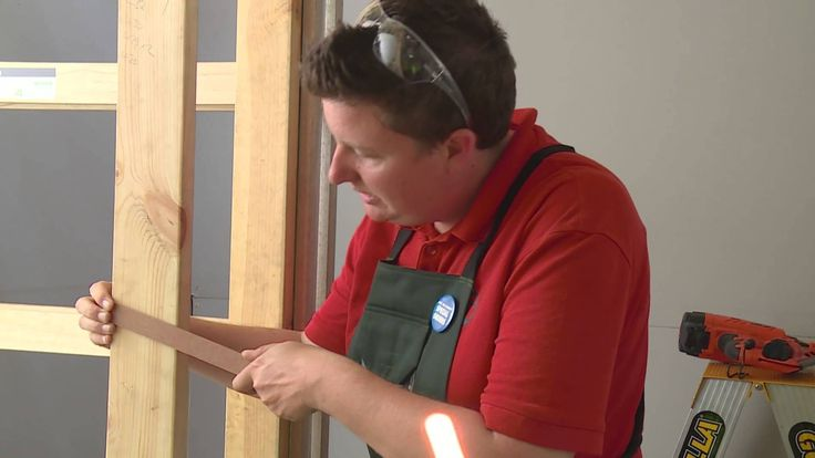 How To Install A Cavity Sliding Door - DIY At Bunnings