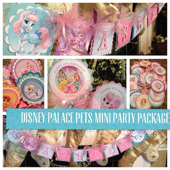 Hey, I found this really awesome Etsy listing at https://www.etsy.com/listing/201428961/newdisney-palace-pets-party-package