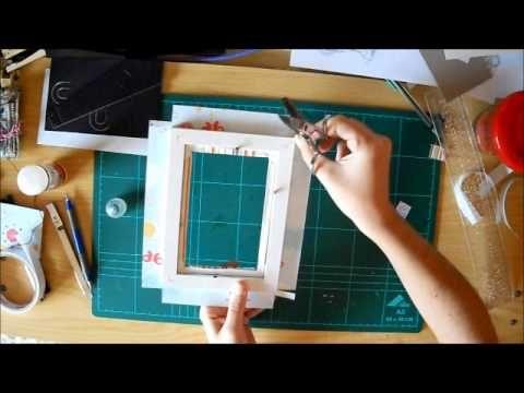 39 best marcos scrap images on pinterest frames craft for Marcos para decorar