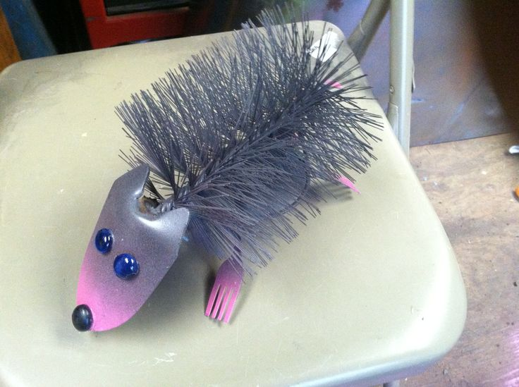 My hedgehog metal yard art metal art