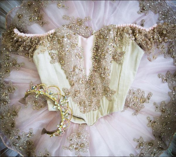 Our beautiful Sugar Plum Fairy tutu!                                                                                                                                                                                 More