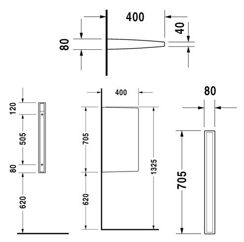 Urinal Partition Dimensions Google Search In 2019