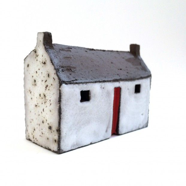 Pauline Montgomery, Blackroof House III, Ceramic   Scottish Contemporary Art