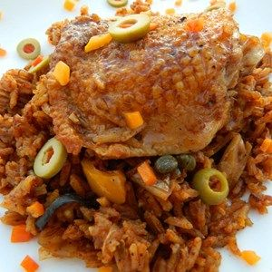 A bowl of this spicy rice and tangy chicken will satisfy all your comfort food cravings in one delicious dish.  Allrecipes.com