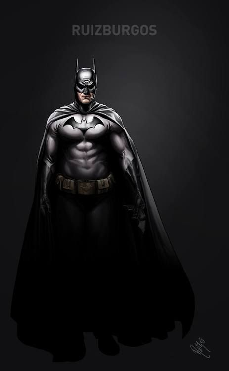 Batman by Ruiz Burgos