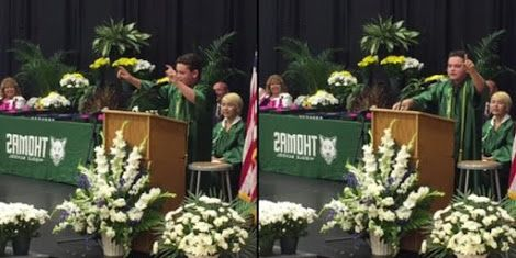 8th Grader Impersonates Donald Trump Hillary Clinton And Obama In Hilarious Graduation Speech