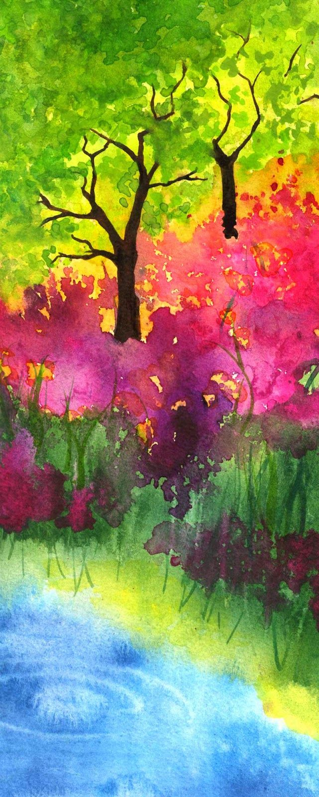 Water color by Gina Lee Kim.