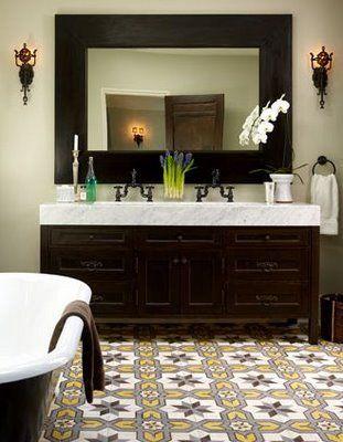 best 25+ yellow mediterranean bathrooms ideas only on pinterest