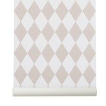 Harlequin Rose Nursery Wallpaer - full range online at nubie | Nubie - Modern Baby Boutique
