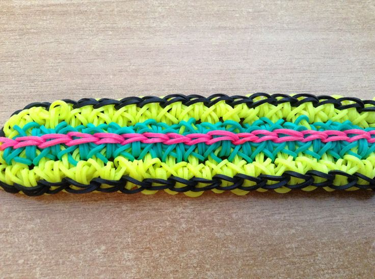 rainbow loom dragon tail bracelet my rainbow loom