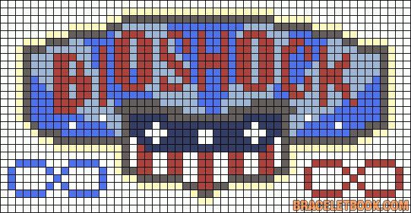Bioshock Perler Bead Pattern Video Game Patterns