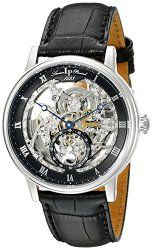 Lucien Piccard Men's LP-40013A-01 Quantum Analog Display Automatic Self Wind Black Watch