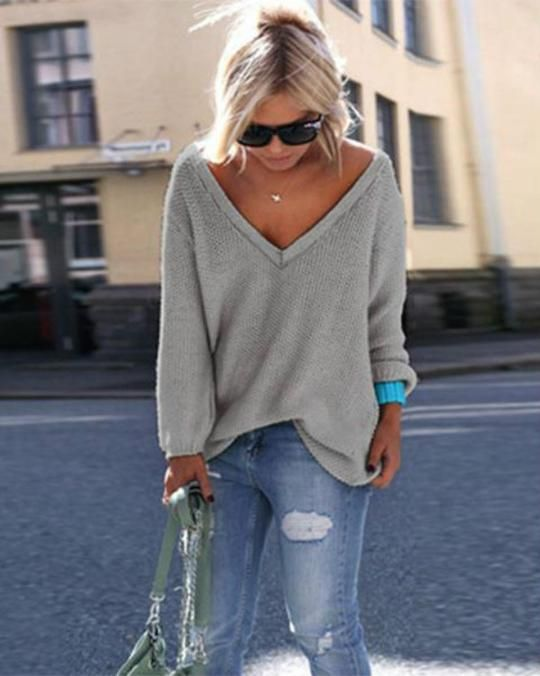 FREE SHIPPING Order Over  80 BUY 3 USE 8% OFF CODE   8OFF Item   L1169  Descriptions  Sleeve Length  Long Sleeve Neckline  V Neck Colo 6b3909b2f
