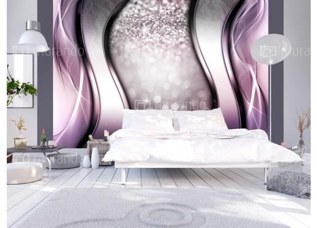Fialová abstraktní tapeta