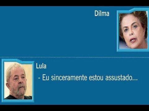 URGENTE! Áudio de Lula: 'Estou assustado é com a República de Curitiba'....