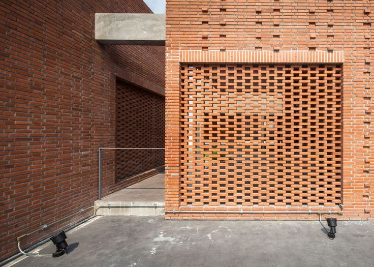 1000 images about materials bricks on pinterest brick for Perforated brick wall