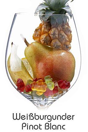 Descrição aromática da variedade: Pinot Blanc